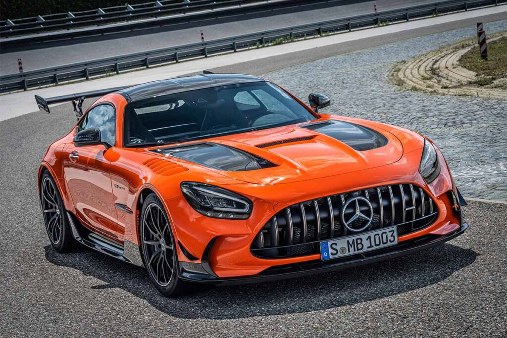 Mercedes-AMG GT Black Series Sports Coupe