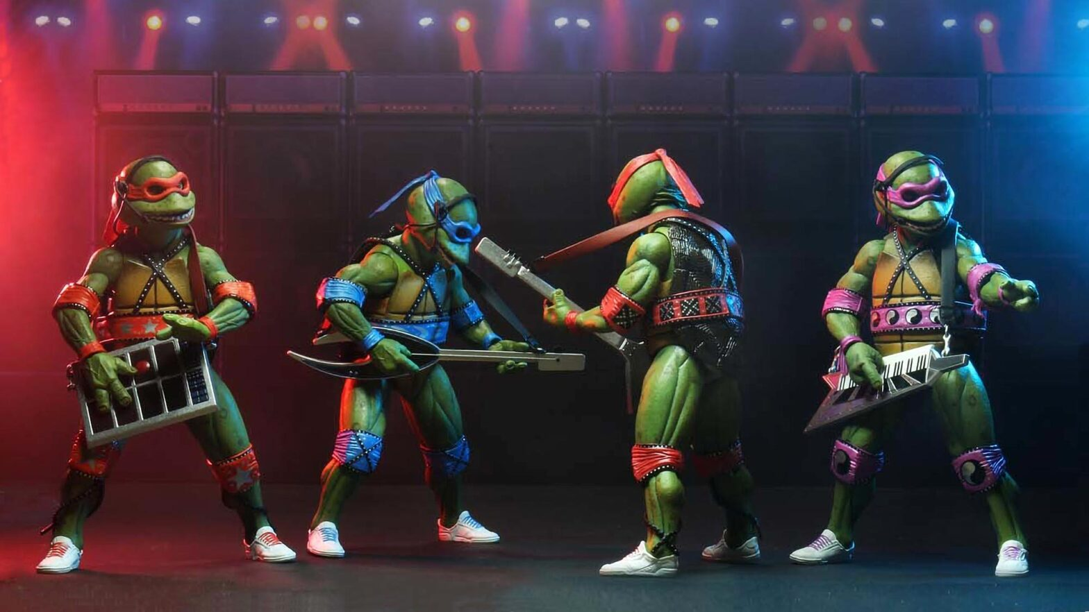 NECA Teenage Mutant Ninja Turtles Musical Mutagen Tour Set