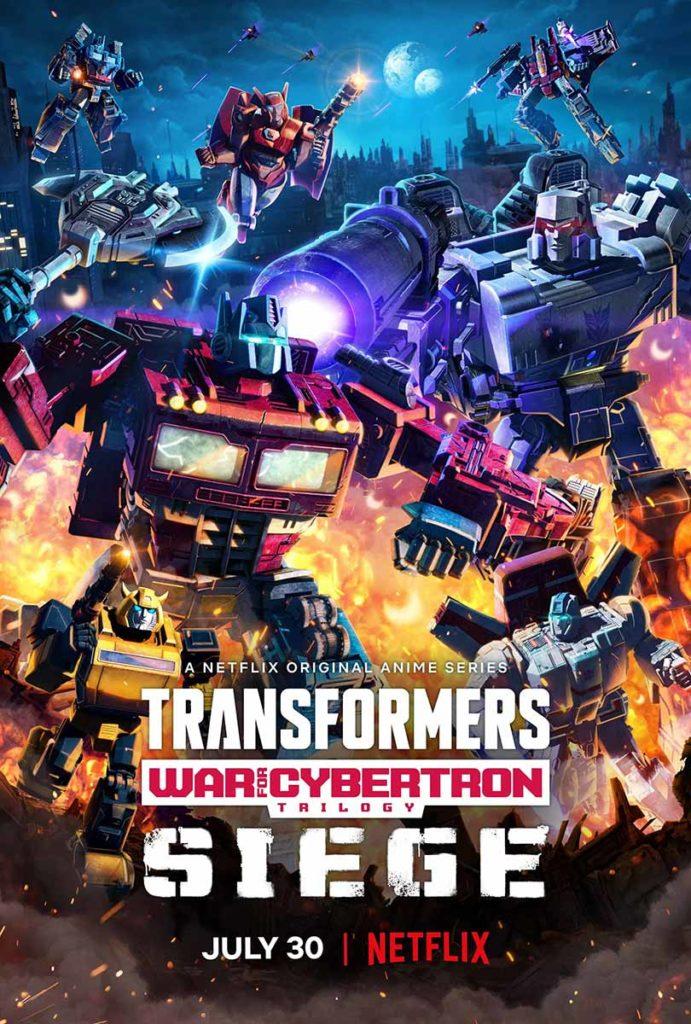 Netflix Transformers War For Cybertron Trilogy Siege Trailer