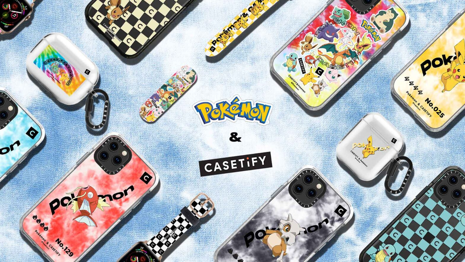 Pokémon x CASETiFY Collection