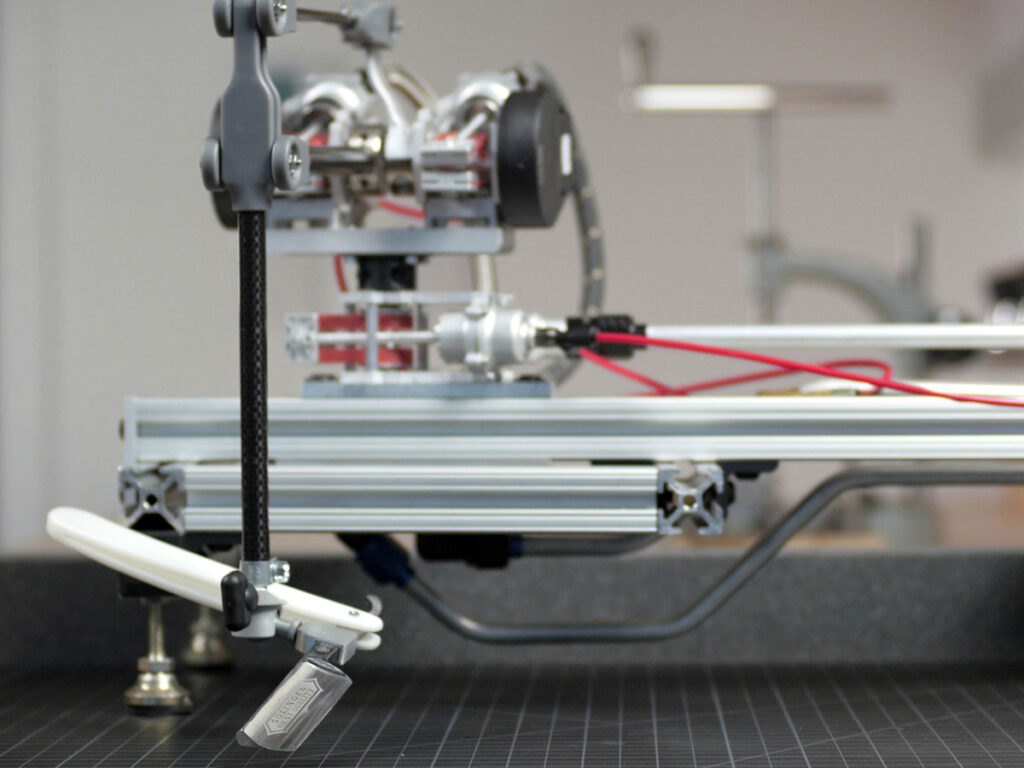 Remotely Operated Razor-wielding Robot