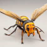 This Asian Giant Hornet Figure Is Over 3x The Size Of The Real-deal And Super Posable