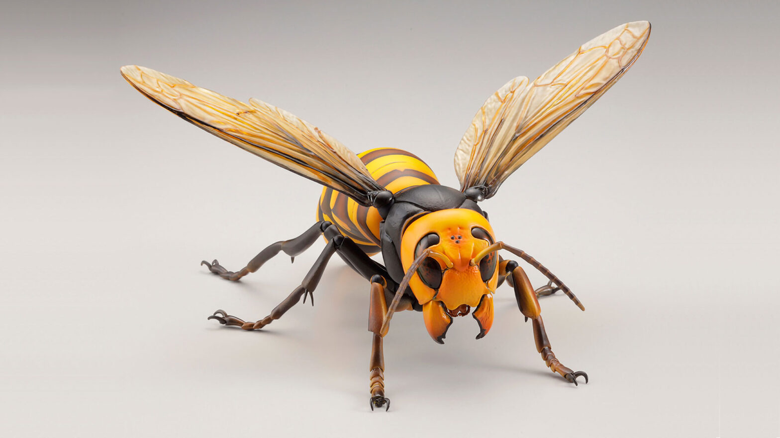 Revoltech RevoGeo Asian Giant Hornet Figure