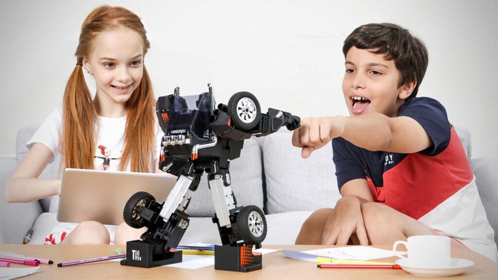 Robosen T9 Remote Control Transformers Robot