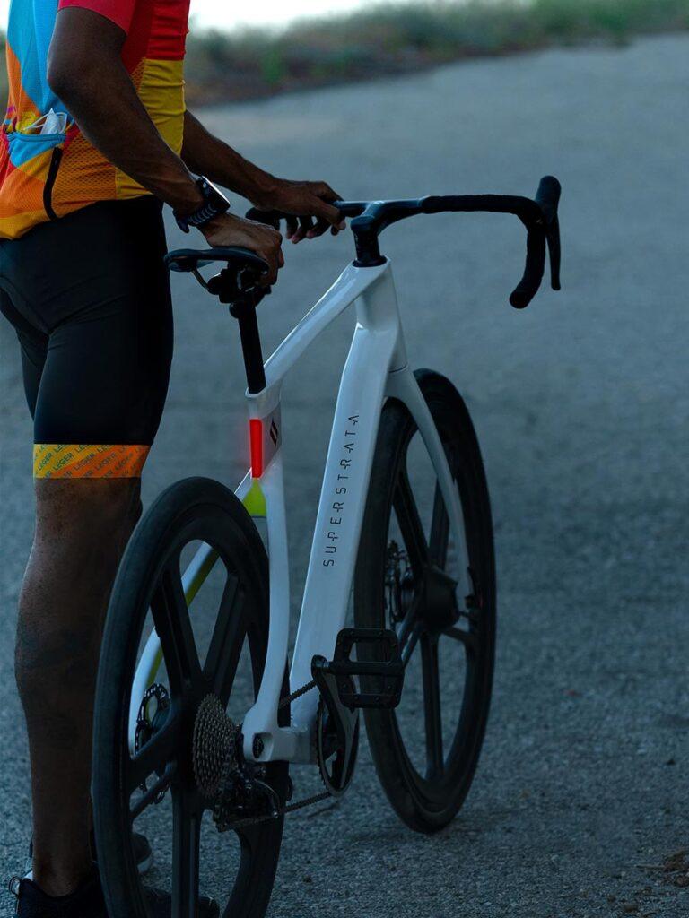 Superstrata 3D Printed Unibody Carbon Fiber Composite Bike