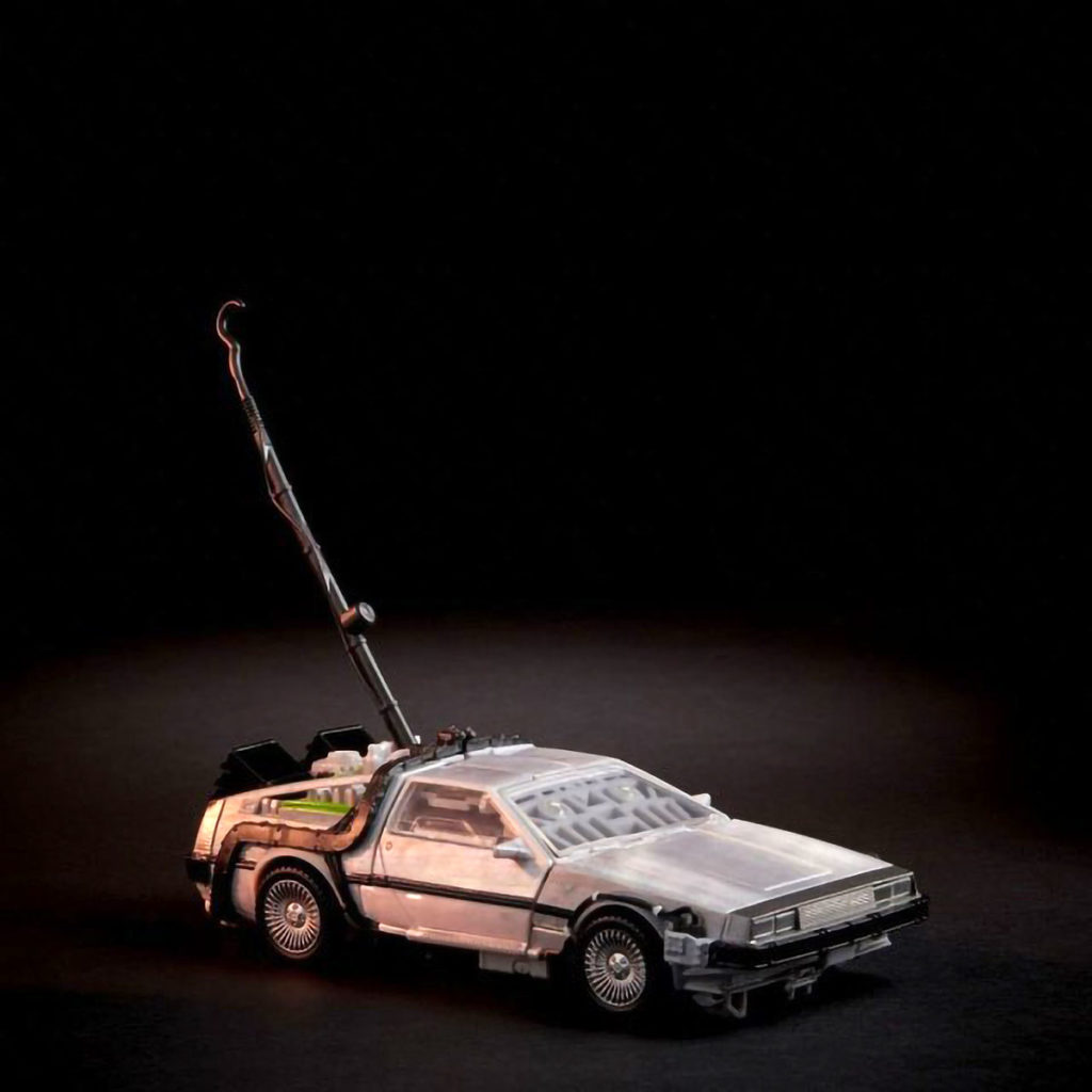 Takara Tomy Back to the Future Transformers Toy