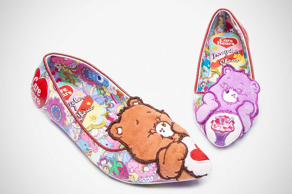 The Irregular Choice x Care Bears Line
