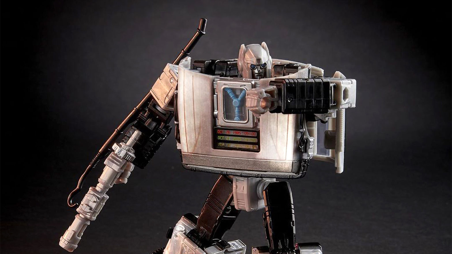 Transformers x Back to the Future Gigawatt Toy