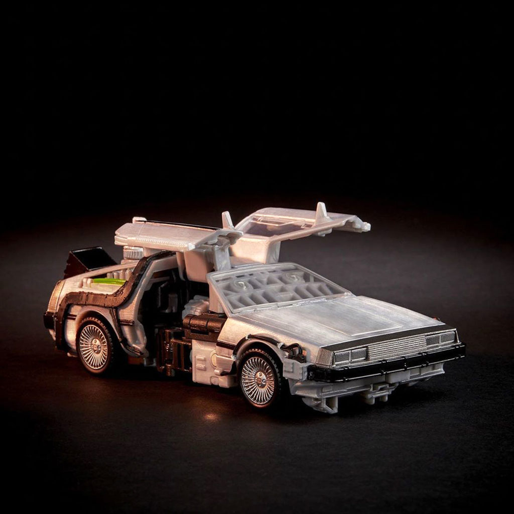 Transformers x Back to the Future Gigawatt Toy