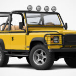 Twisted NAS-E 4×4 Is A Built-To-Order Fully Electric Land Rover Soft-Top 90 Body Type Defender