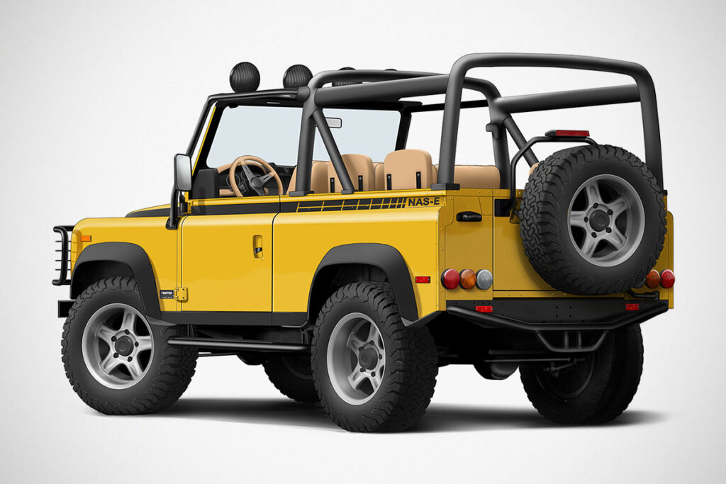 Twisted NAS-E 4x4 Electric Land Rover Defender