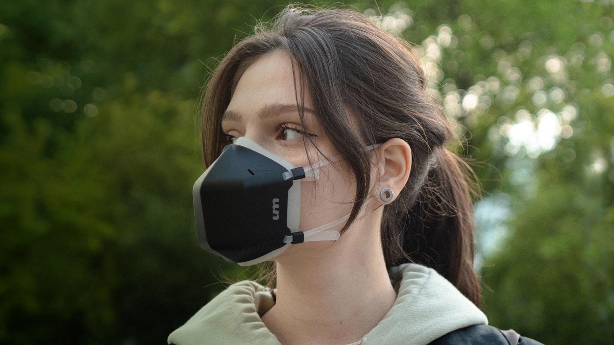Uvmask Is A High Tech Face Mask That Features Consumer Grade Uv C Technology Shouts