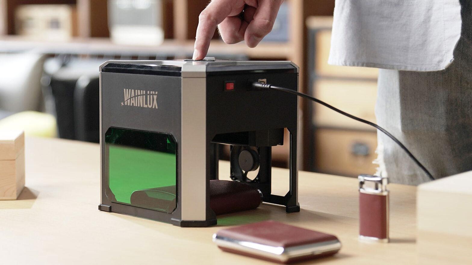 Wainlux K6 Laser Engraver Kickstarter