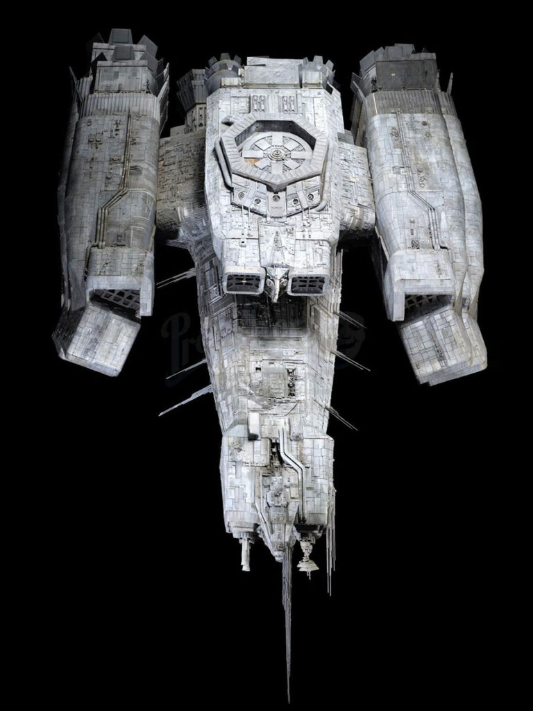 1979 Alien 11-foot Nostromo Principal Filming Model