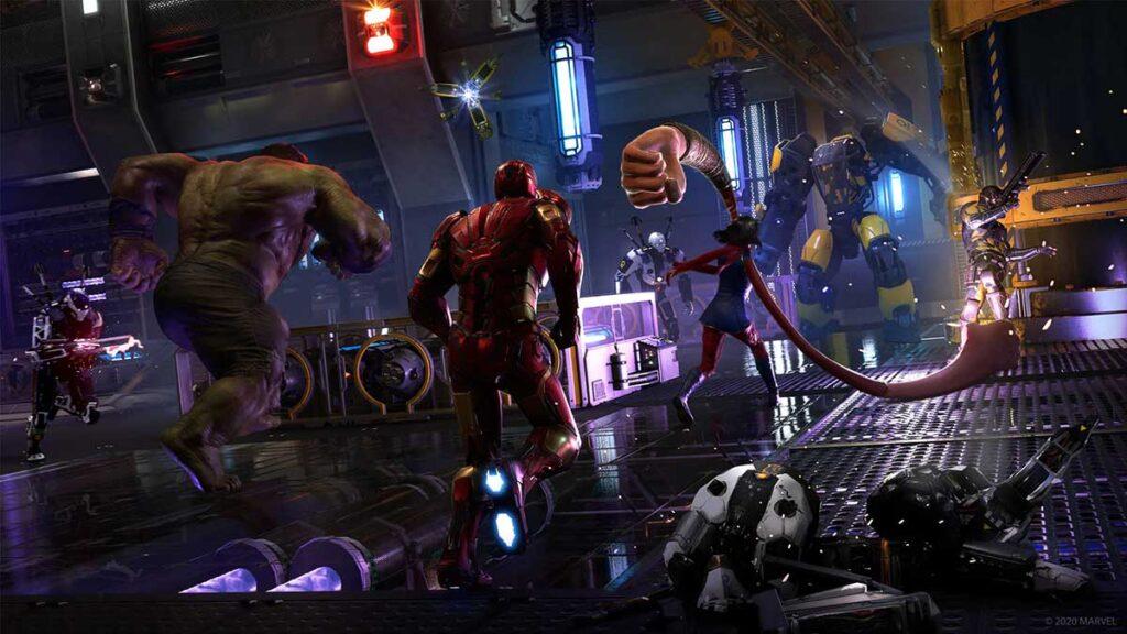 2020 Marvel's Avengers Video Game