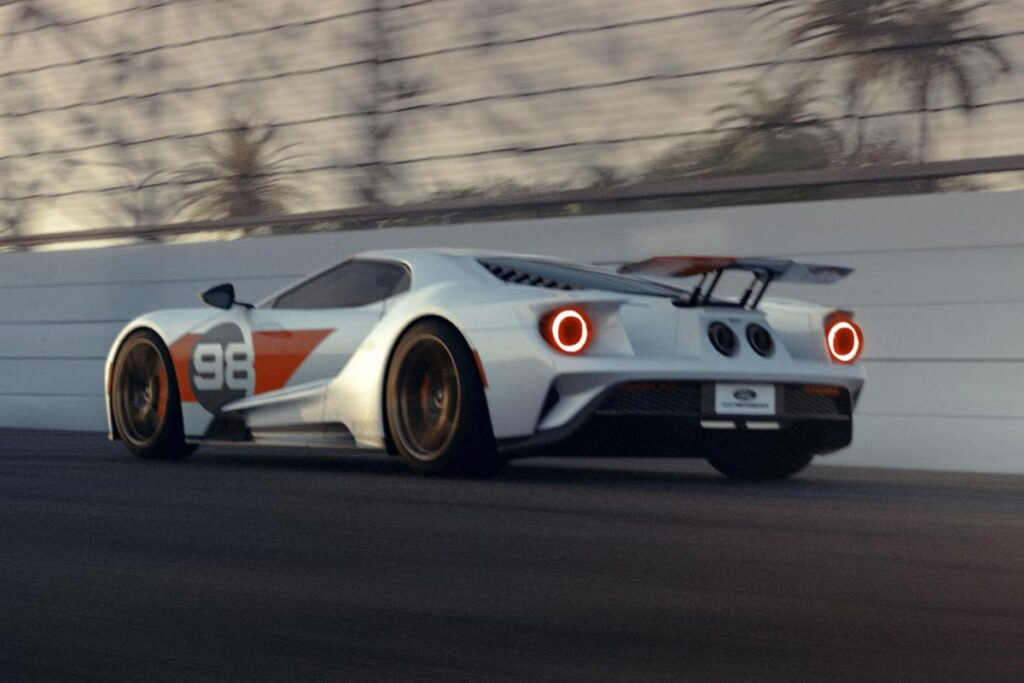 2021 Ford GT Heritage Edition Supercar