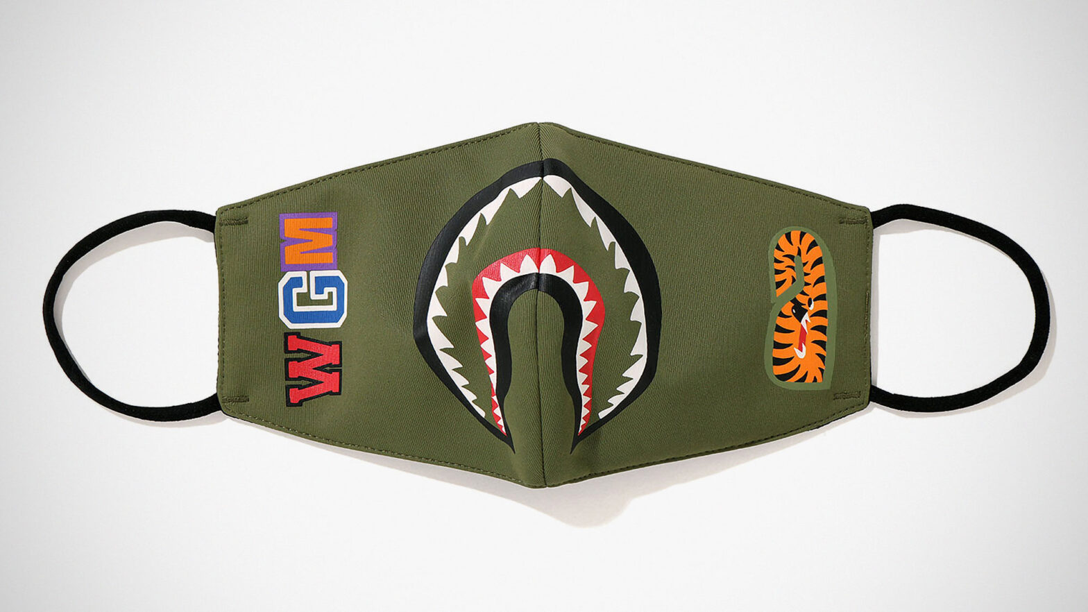 A Bathing Ape Shark Mask Face Mask