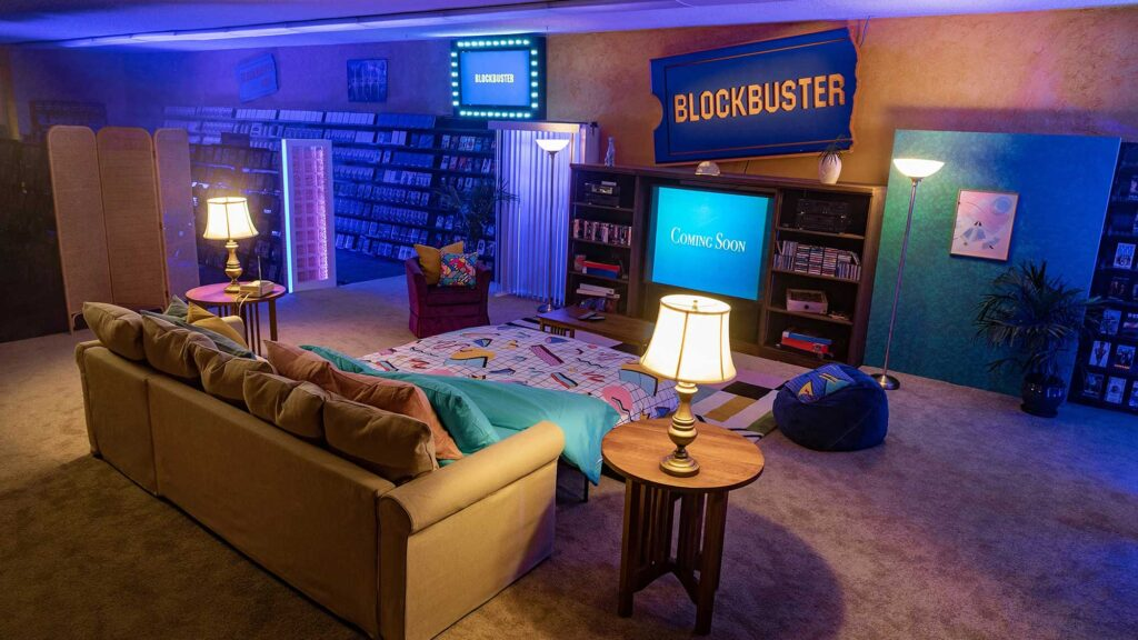 Airbnb Sleepover at the Last Blockbuster
