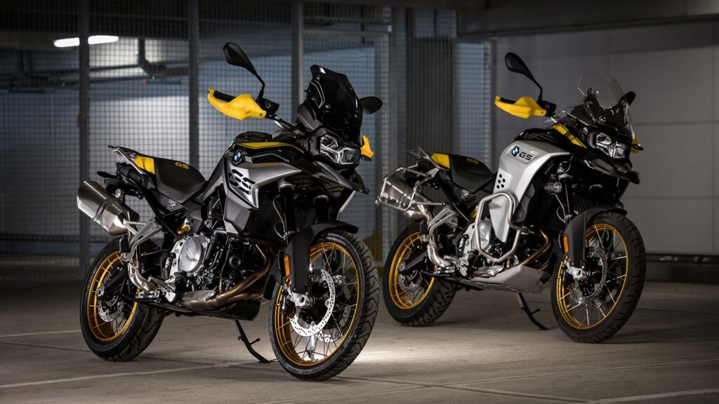 BMW F 850 GS and BMW F 850 GS Adventure GS Edition 40 Years GS