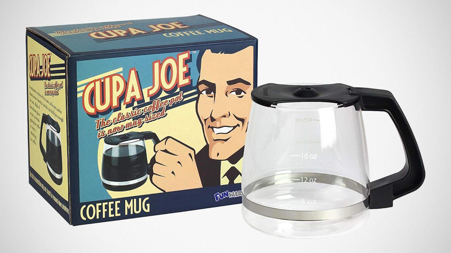 Barbuzzo Classic Coffee Pot Shaped Coffee Mug