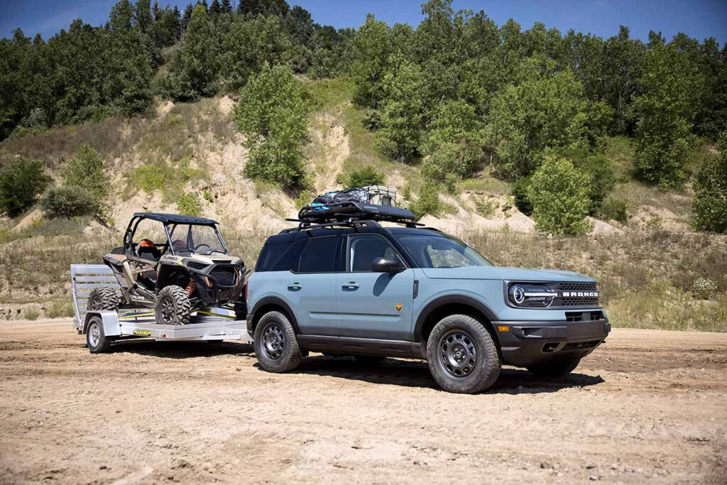 Ford Bronco Sport TOW RZR