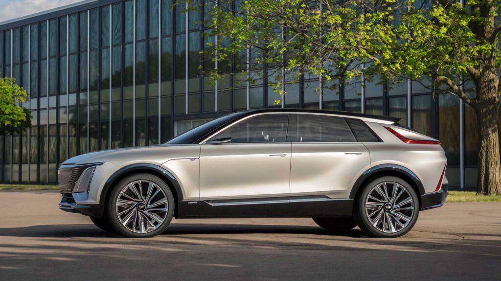 Cadillac LYRIQ Concept Electric Vehicle