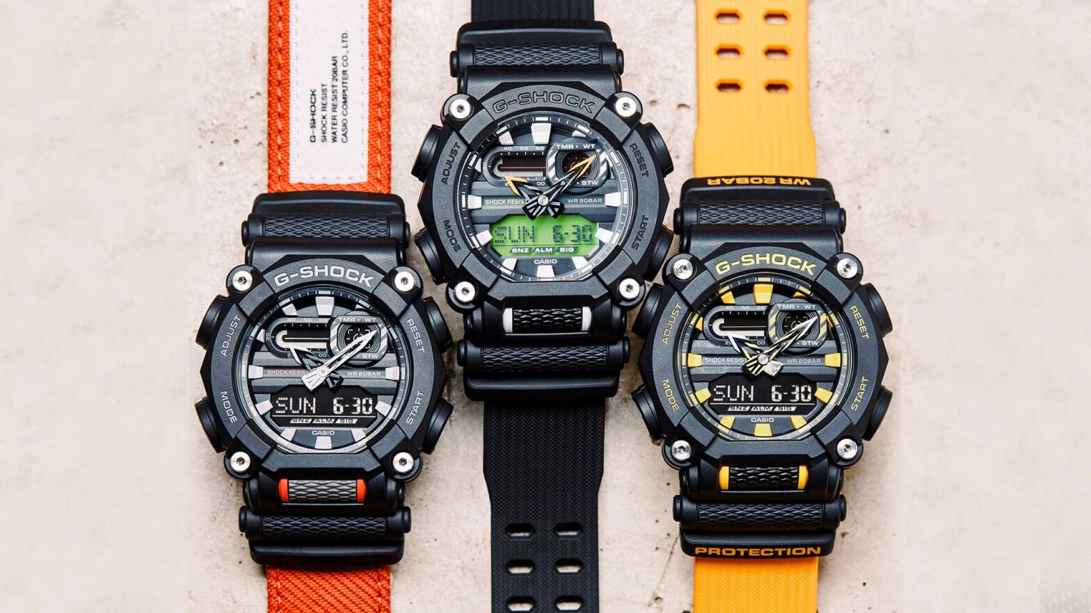 Casio G-Shock New GA900 Super Tough Watches
