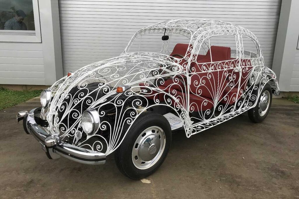 Custom 1968 Volkswagen Wedding Beetle