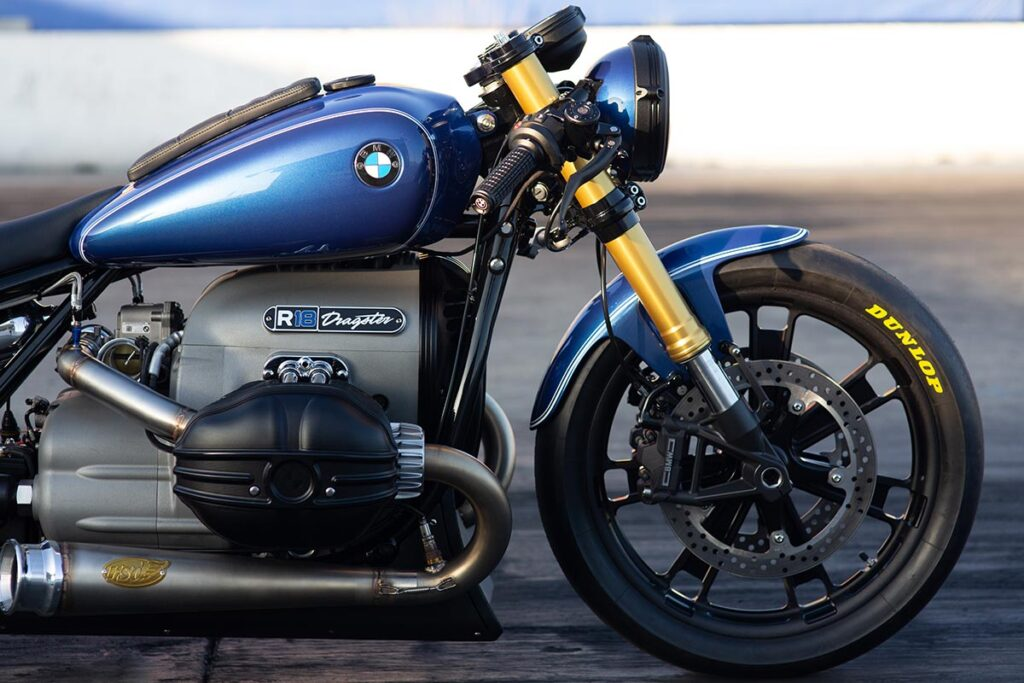 Custom BMW R 18 Dragster by Roland Sands