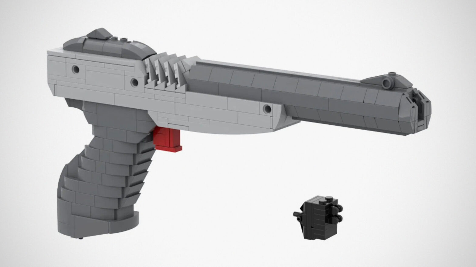 Custom LEGO Nintendo Zapper Kit by AbbieDabbles