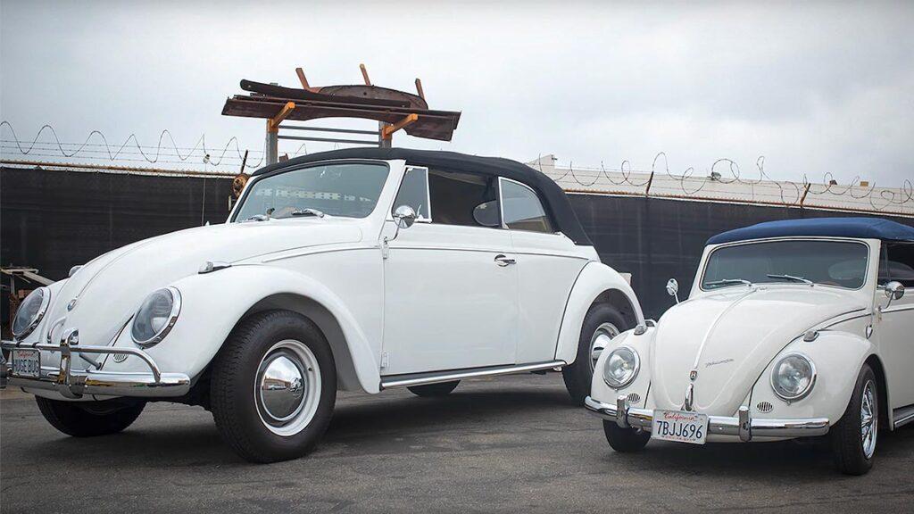 Custom Upsized 1959 VW Beetle Convertible
