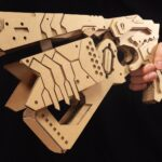 Someone Made A <em>Psycho-Pass</em> Dominator Gun Prop Entirely Out Of Cardboard