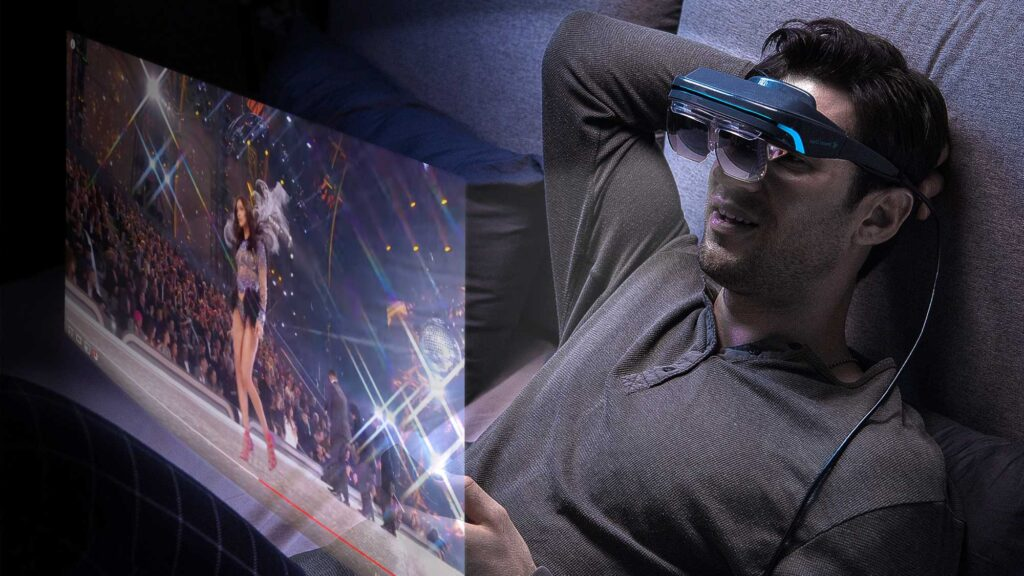 Dream Glass 4K AR Head Mounted Display
