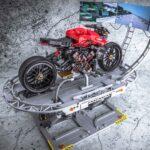 """LEGO Enthusiast Created A LEGO Ducati Xtrema """"Driving Simulator"""""""
