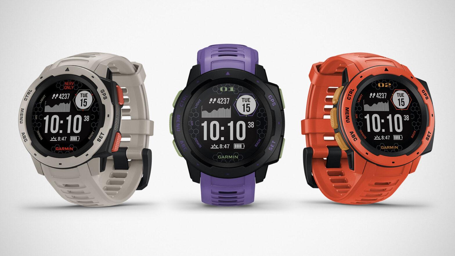 Evangelion x Garmin GPS Smartwatches
