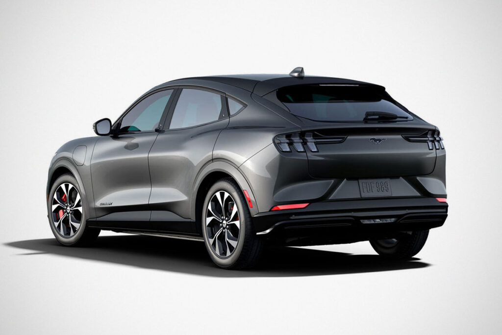Ford Mustang x Uncrate Supply Mach-E First Edition Electric SUV