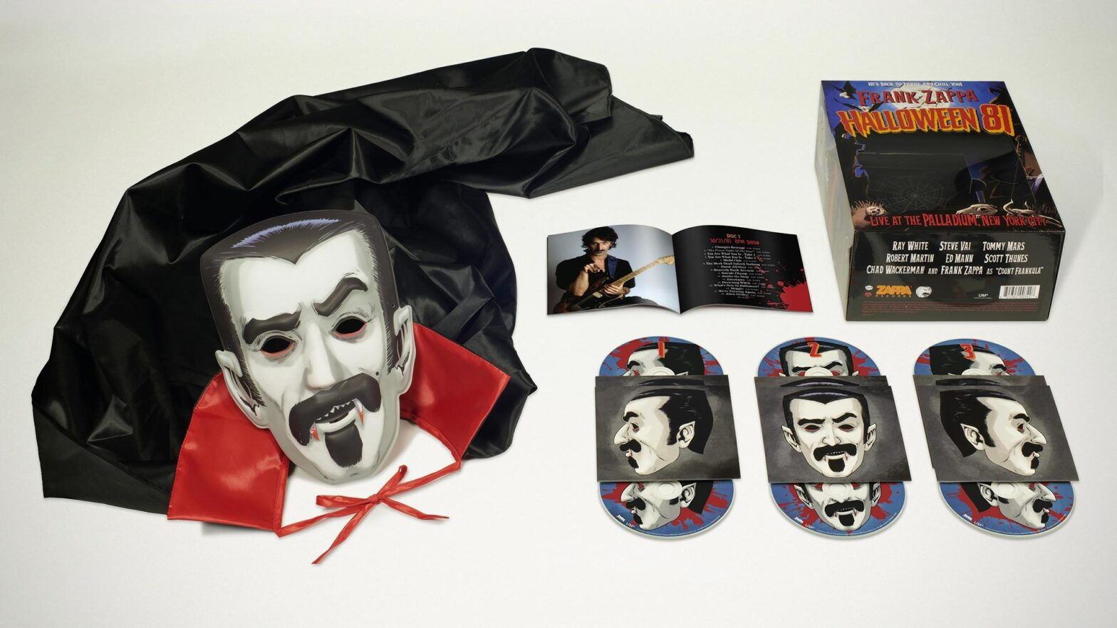 Frank Zappa Six-Disc Halloween 81 Costume Box Set