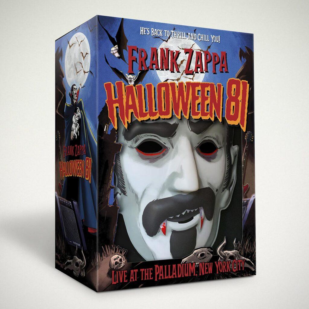 Frank Zappa Six-Disc Halloween 81 Costume Box Set