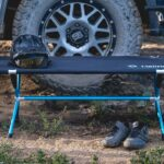Here's A Neat Field Bench That Sits Two For Your Next Camping Adventure