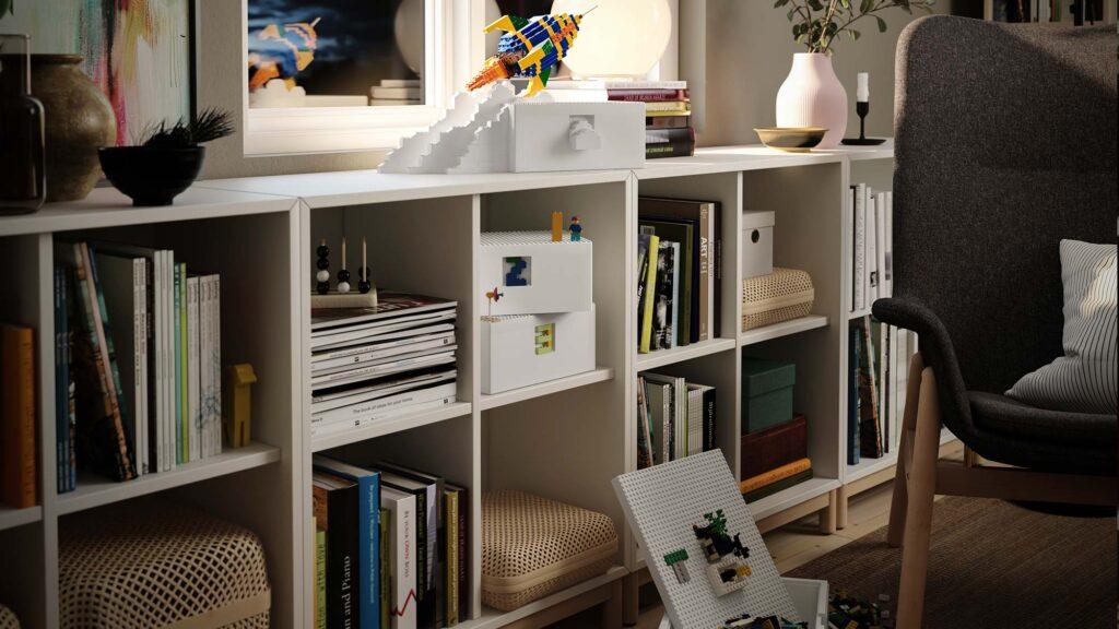 IKEA x LEGO BYGGLEK Storage Collection