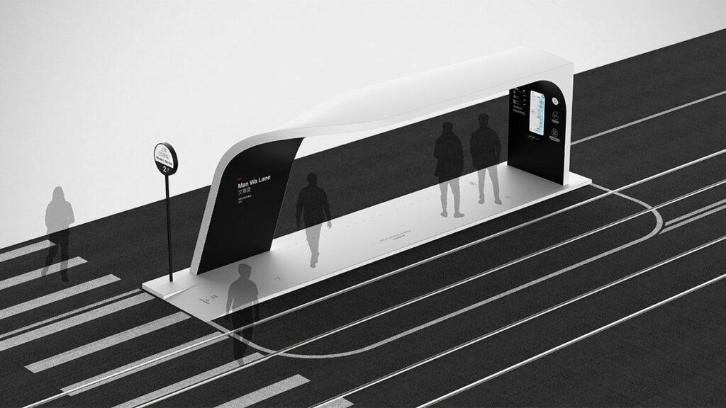 Island Driverless Tram Concept by Ponti Design Studio