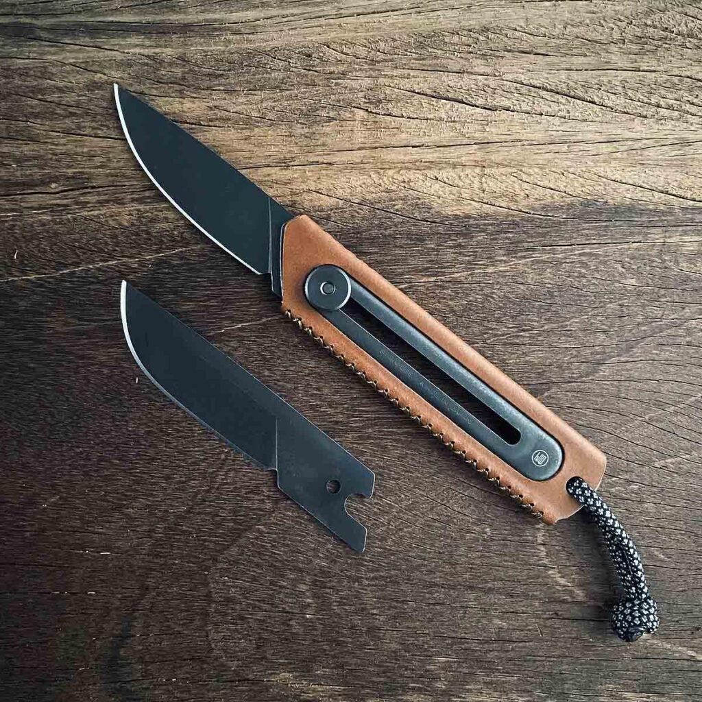 JHO x CK2 Retractable Pocket Knife