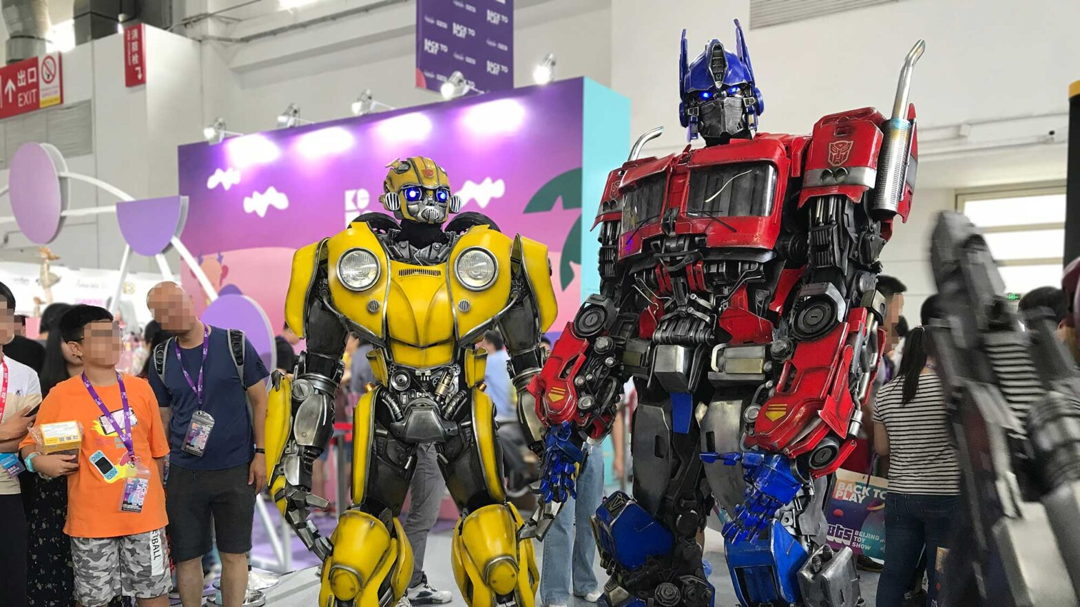 Killerbody Transformers Cosplay Costumes