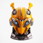 This Officially Licensed Wearable Bumblebee Helmet Is Also A Functional Bluetooth Speaker