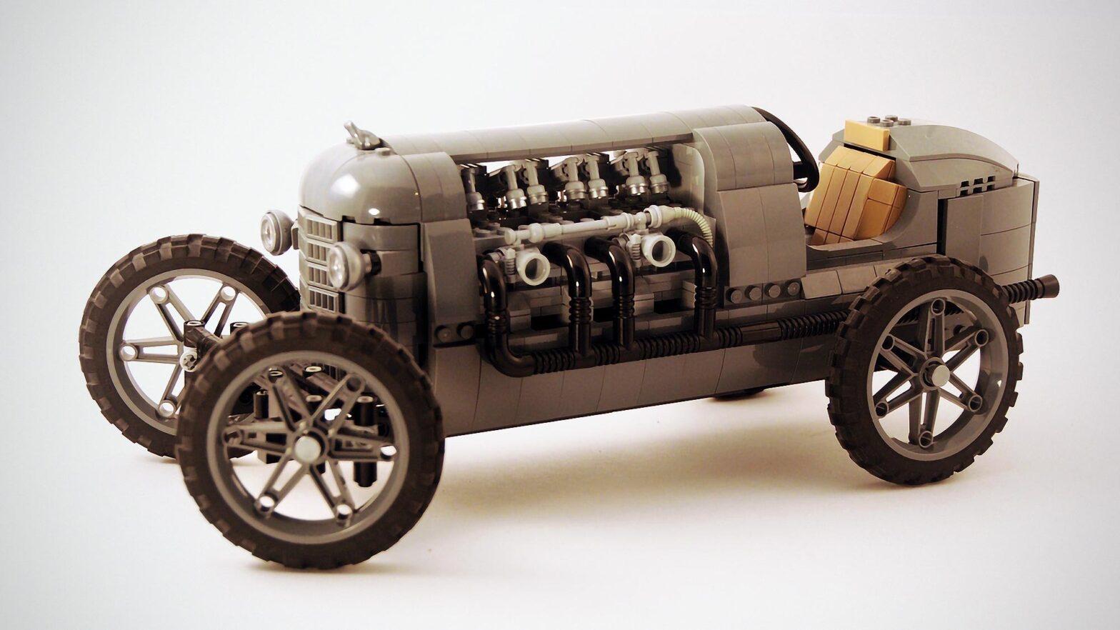 LEGO MOC Early 1900s Race Car