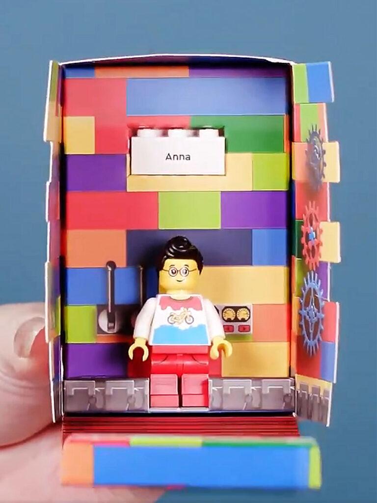 LEGO Minifigure Factory Bespoke Minifigure of You