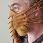 Here's Another <em>Aliens</em> Facehugger Mask. This Time, It's In Leather