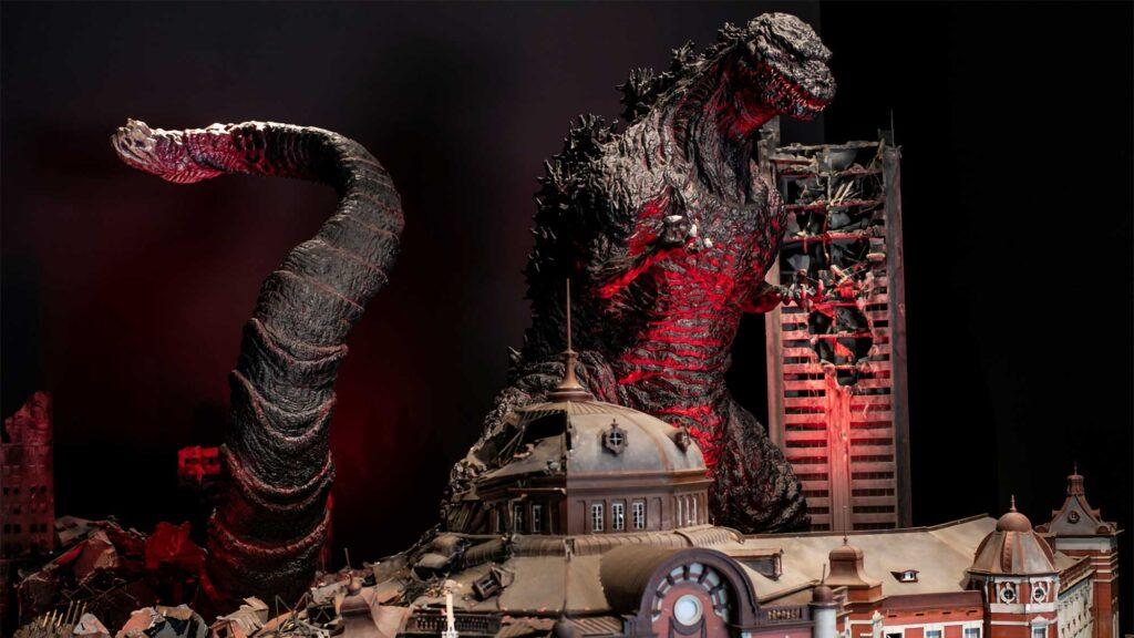 Nijigen No Mori Godzilla Experience Partial Opening