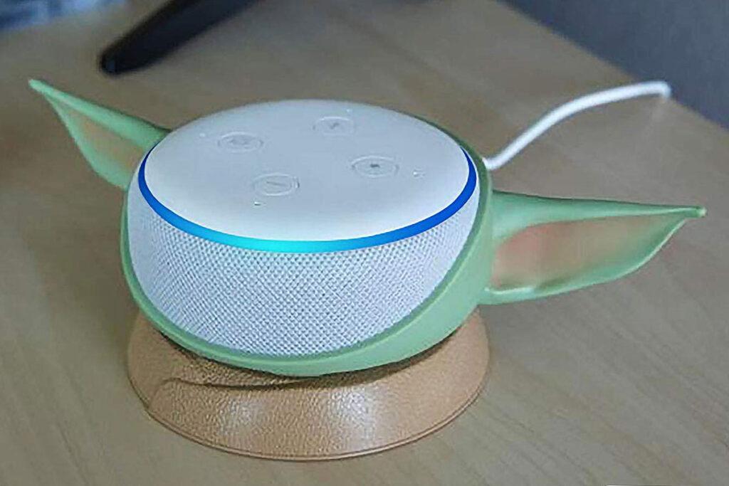 OtterBox Baby Yoda Stand for Amazon Echo Dot