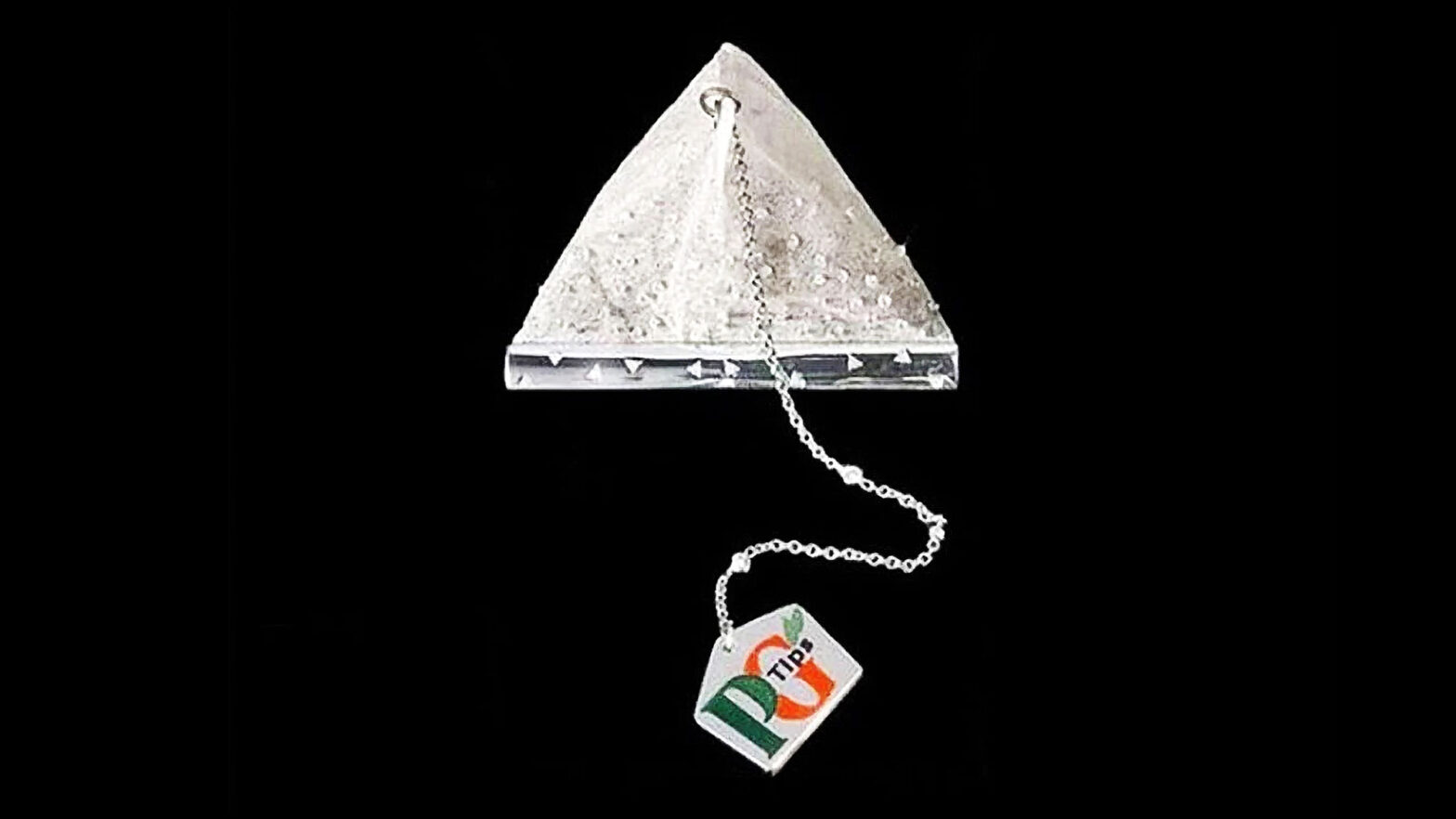 PG Tips Tea Leaves in Diamond-studded Teabag